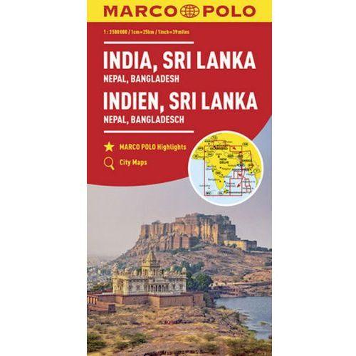 MARCO POLO Kontinentalkarte Indien, Nepal 1:2 500 000 (9783829739443)