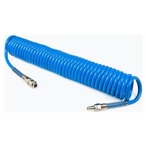 Airpress ★dostawa w 24h★ wąż pneumatyczny spiralny pu 12x8mm 15m ★ 100% pozytywnych komentarzy z allegro! ★