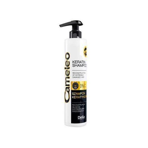 Delia cosmetics cameleo szampon keratynowy do włosów zniszczonych 250ml - delia od 24,99zł darmowa dostawa kiosk ruchu