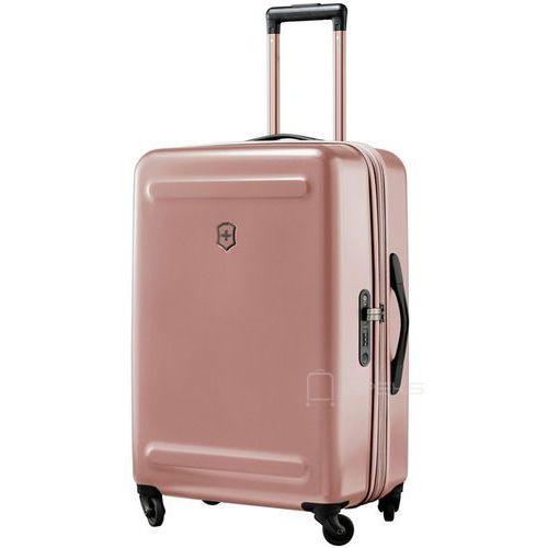 10ed7b1e7d750 Victorinox etherius średnia poszerzana walizka 67 cm / różowa - rose gold