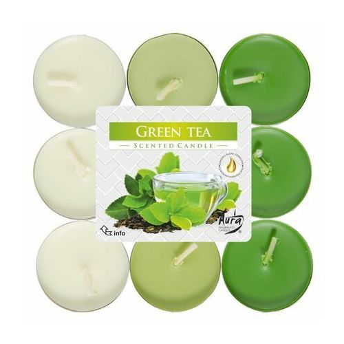 Podgrzewacz zapachowy green tea zielona herbata 18 szt. marki Bispol