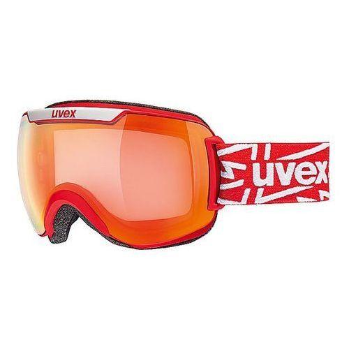 Uvex Gogle narciarskie  downhill 2000 vm fotochromowe czerwony