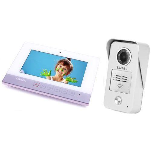 Wideodomofon - 7cali N75B/No15nc+3xbrelok (z czytnikiem)