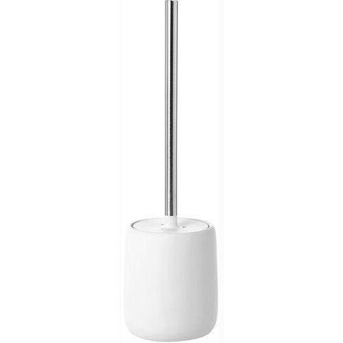 Szczotka toaletowa z pojemnikiem sono biała (b66281) marki Blomus