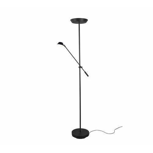 Trio RL Haora R42321232 lampa stojąca podłogowa 1x17W+1x3,5W LED czarna (4017807455731)