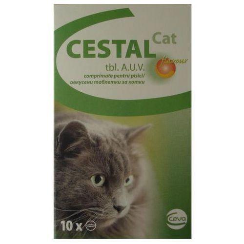 Cestal cat flavour tabletki na odrobaczanie dla kotów 10szt./50szt. marki Ceva sante animale