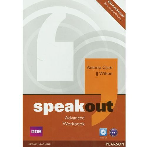 Speakout Advanced Workbook Z Płytą Cd (opr. miękka)