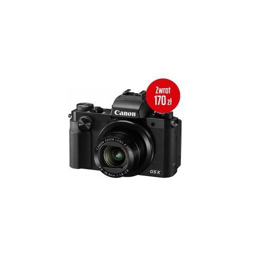 Canon  powershot g5x - cashback 170zł
