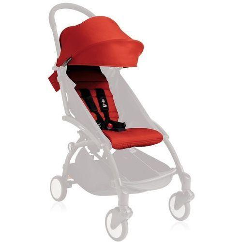 Zestaw kolorystyczny do siedziska yoyo +6 czerwony + darmowy transport! marki Babyzen