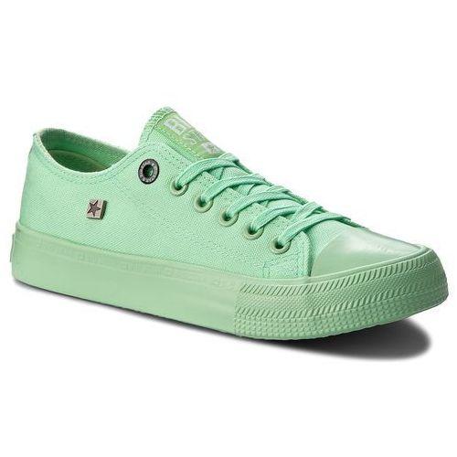 Trampki - aa274030 green, Big star, 36-40