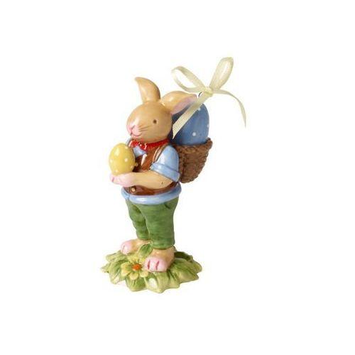 - bunny family figurka porcelanowa zając z pisanką marki Villeroy & boch