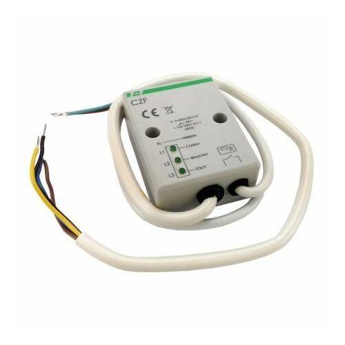 CZF Przekaźnik zaniku i asymetrii faz 230V max 10A styk 1NO F&F 3010