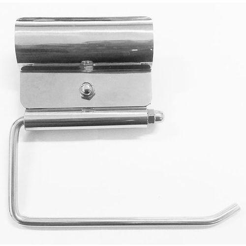 Uchwyt na papier toaletowy do poręczy dla niepełnosprawnych ⌀ 32 stal połysk, S32ZPSNP