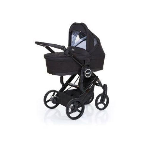 wózek dziecięcy mamba plus black-black, stelaż black / siedzisko black od producenta Abc design
