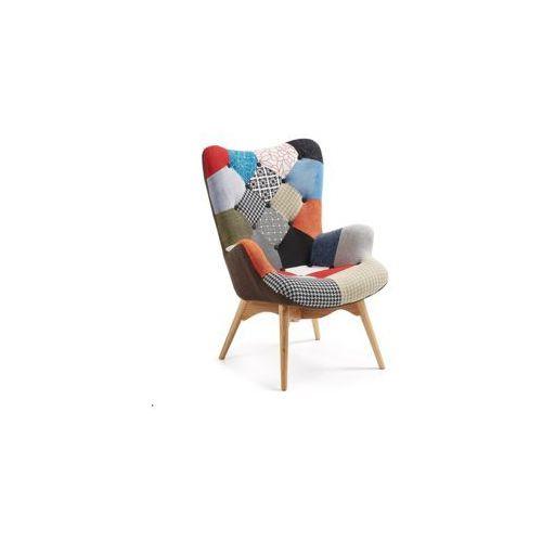 Laforma :: fotel knut patchwork wielokolorowy