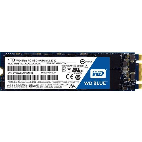 Dysk ssd western digital blue s100t2b0b (1 tb; m.2; sata iii) + darmowy transport! marki Wd