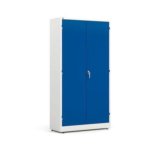Szafa Style, 4 półki 1900x1000x400 mm - kolory: biały niebieski
