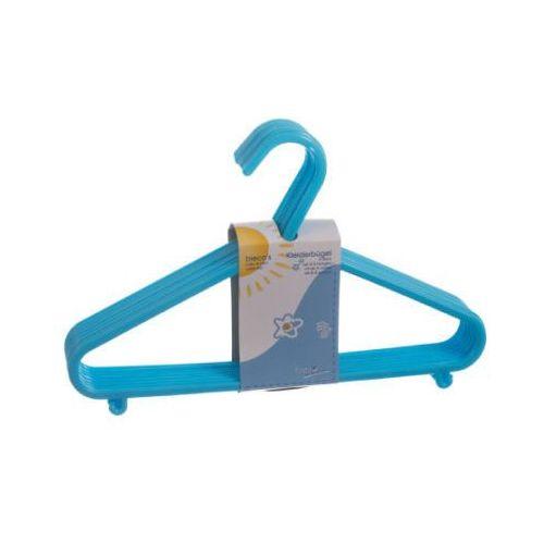 Bieco  wieszaki na garderobę 8 szt. jasnoniebieski