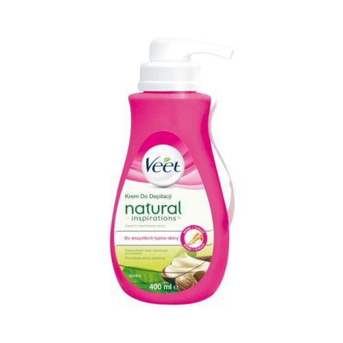 Veet 400ml natural inspirations krem do depilacji z masłem shea marki Reckitt benckiser