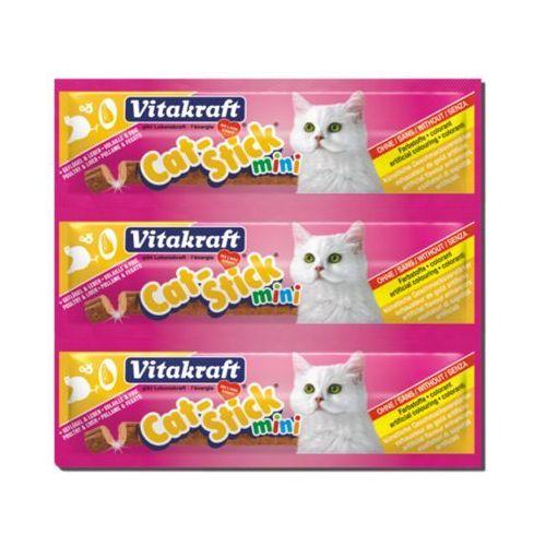 cat stick mini - przysmak dla kota smak: drób i wątroba 3szt/18g marki Vitakraft