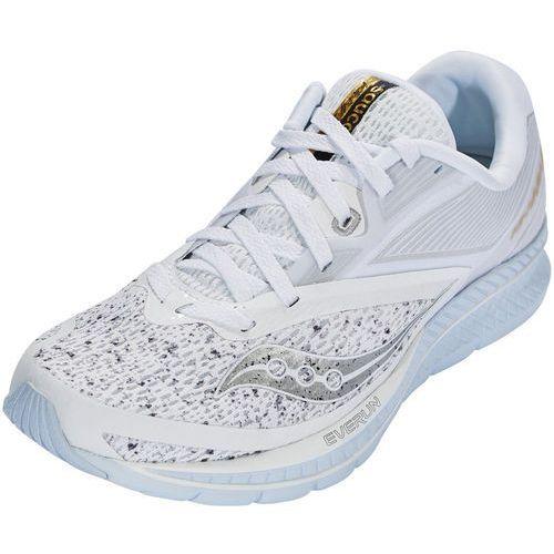 saucony Kinvara 9 Buty do biegania Kobiety szary/biały US 8,5 | 40 2018 Szosowe buty do biegania, kolor biały