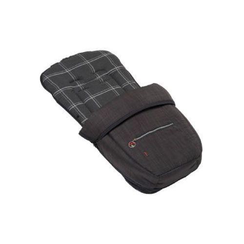 śpiworek do wózka lato/zima grey check (746) marki Hartan