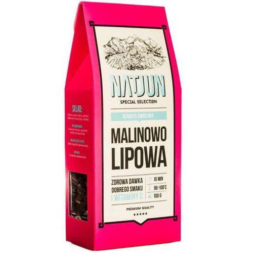herbata owocowa malinowo-lipowa 100g marki Natjun