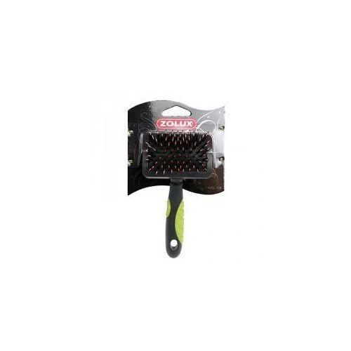 Zolux - 470714 - zgrzebło, szczotka z włosiem, średnia