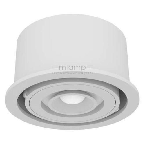 Wpust LAMPA sufitowa FUSION L111 SNW 06.3108.K6B.kolor Chors podtynkowa OPRAWA metalowa LED 17W okrągła do zabudowy