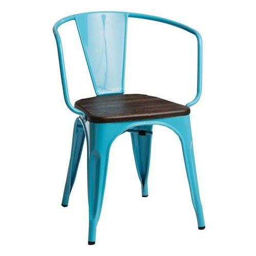 D2design Krzesło paris arms wood nieb. sosna szcz otkowana
