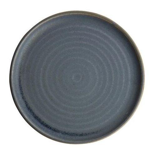 Olympia Okrągły talerz o wąskim brzegu, niebiesi granit 265mm canvas (zestaw 6 sztuk)