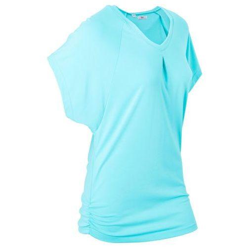 """T-shirt """"wellness"""" z krótkimi rękawami typu nietoperz morski marki Bonprix"""