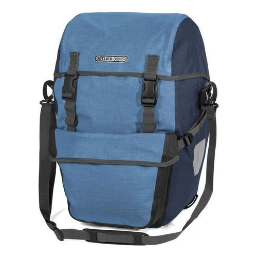 Sakwy rowerowe tylne bike-packer plus - denim-steel blue marki Ortlieb