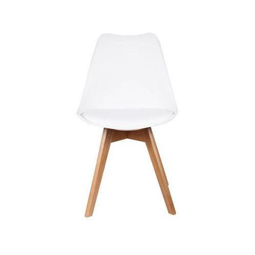 Nowoczesne krzesło 53e-7 białe marki Meblemwm