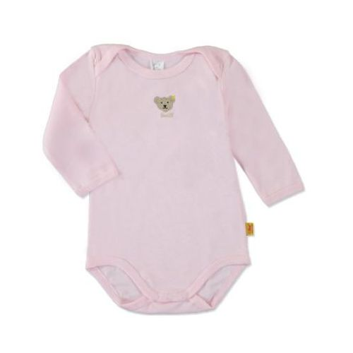 STEIFF Girls Baby Body z długim rękawem barely pink (4048043660931)