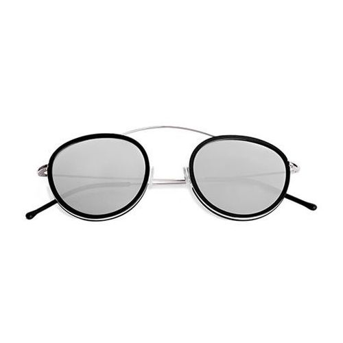 Okulary Słoneczne Spektre Metro 2 Flat MR03AFT/Silver/Black (Silver Mirror), kolor żółty