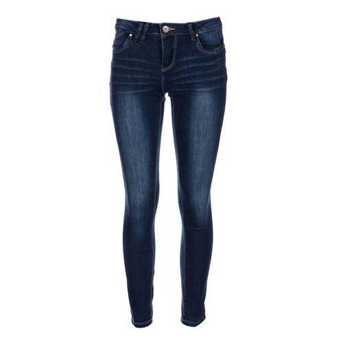 Timeout jeansy damskie 30/30 ciemnoniebieski, kolor niebieski
