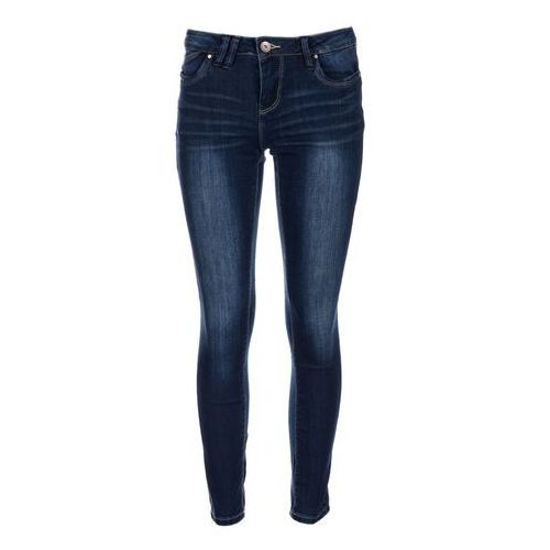 Timeout jeansy damskie 30/32 ciemnoniebieski, kolor niebieski