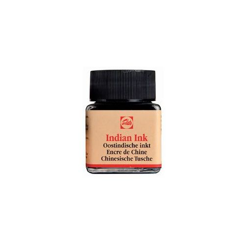 Talens indian ink tusz kreślarski 30ml 700 czarny