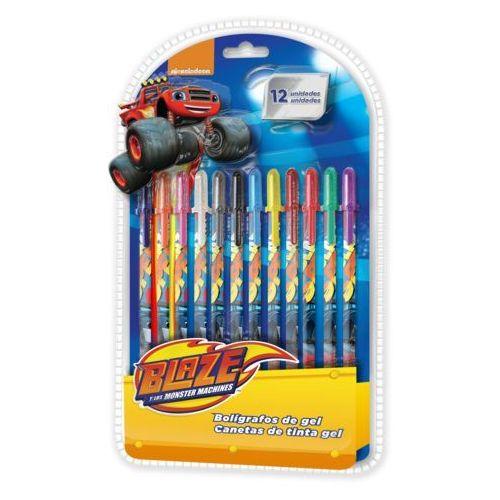 Długopisy żelowe Blaze i Mega Maszyny - 12 szt