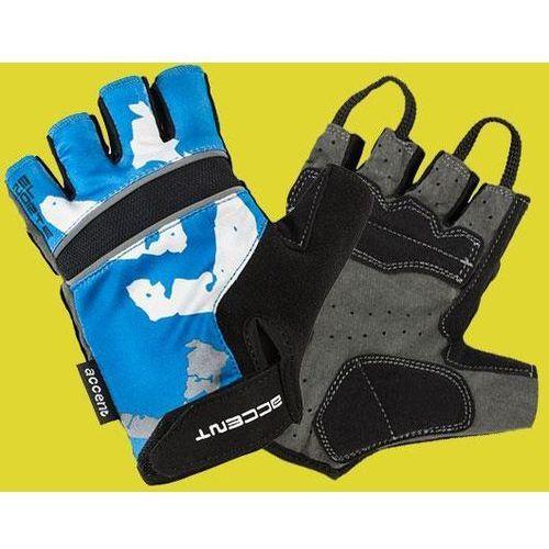 Rękawiczki El Norte niebiesko-czarne M (5906720827802)