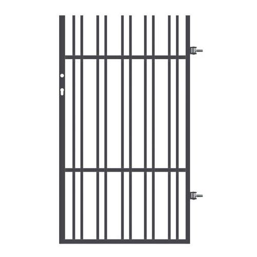 Polbram steel group Furtka paros z elektrozaczepem 90 x 158 cm prawa
