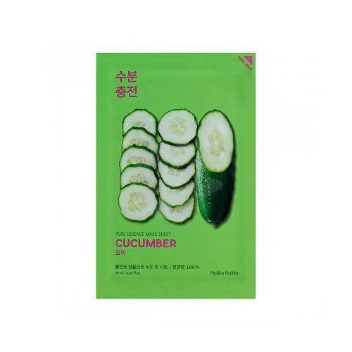Holika Holika Pure Essence Mask Sheet - Maseczka do twarzy Cucumber z kategorii Maseczki do twarzy