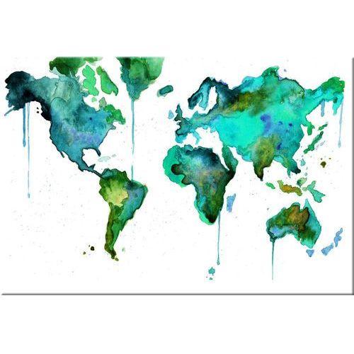 """obrazy nowoczesne """"mapa świata"""""""