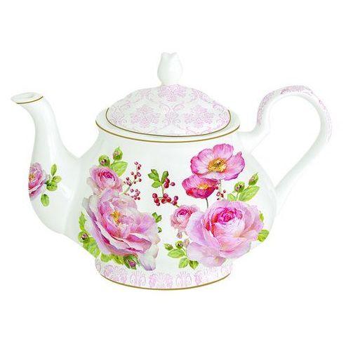 Nuova r2s Czajnik porcelanowy floral damask