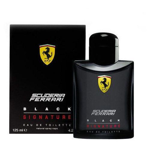 Ferrari Scuderia Ferrari Black Signature 125ml M Woda toaletowa Tester (8002135105621)
