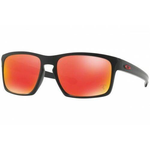 Okulary sliver ferrari collection matte black ruby iridium oo9262-12 marki Oakley