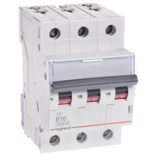 Wyłącznik nadprądowy Legrand 3P B 16A 6kA AC S303 605550/403402 (3414970387547)