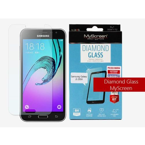 Samsung galaxy j3 (2016) - szkło hartowane diamond glass marki Myscreen protector