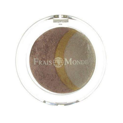 thermal mineralize baked trio eyeshadow 2,2g w cień do powiek odcień 7, marki Frais monde